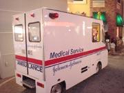 キッザニア『病院』の救急車です