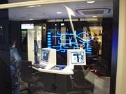 キッザニア『電力会社』のエンジニアルームです