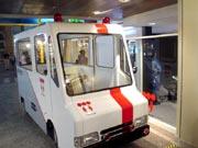 キッザニア『電力会社』の模擬高所作業車です