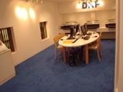 キッザニア『印刷工房』のデザイン室です