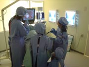 キッザニア『病院』の手術前の風景
