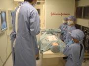 キッザニア『病院』の手術執刀中の風景